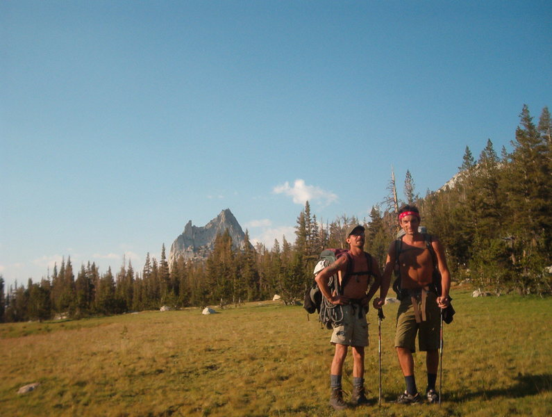 Approach to Cathedral Peak & Eichhorn Pinnacle, Toulomne Meadows.