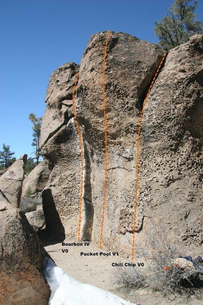 Hawkins Boulder Topo