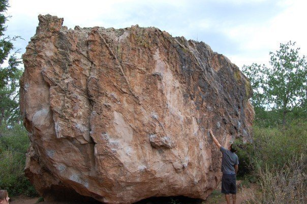 The largest of the 4 Snake Pit Boulders.