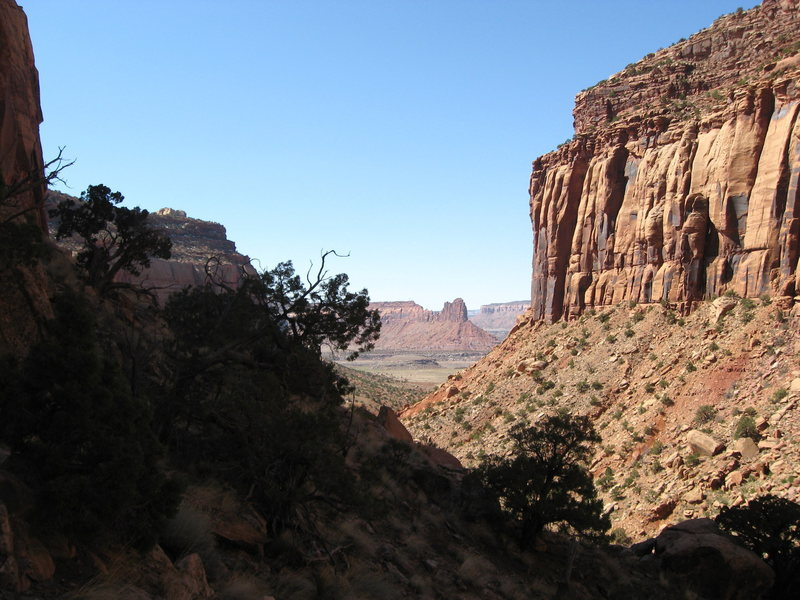 The Bridger Jack as seen from Shock and Awe Buttress