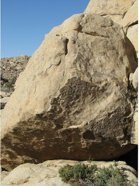 Fun problem on the Peyote formation