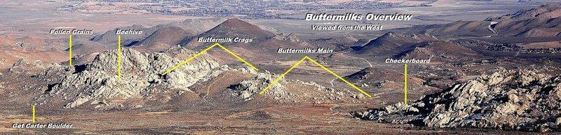 Buttermilks Overview Photo