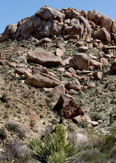 Dark Castle from The Poppyfield Boulders.<br> Photo by Blitzo.