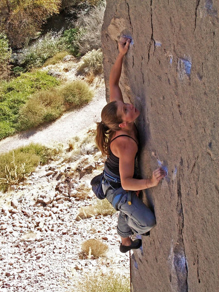 Lauren McGeoch floating 'Crash Landing' .11a