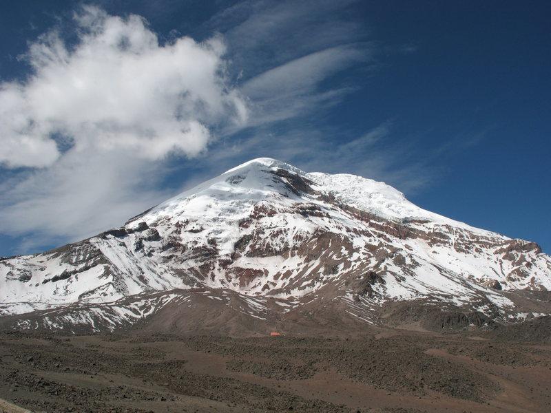 Ecuador's highest, Chimborazo