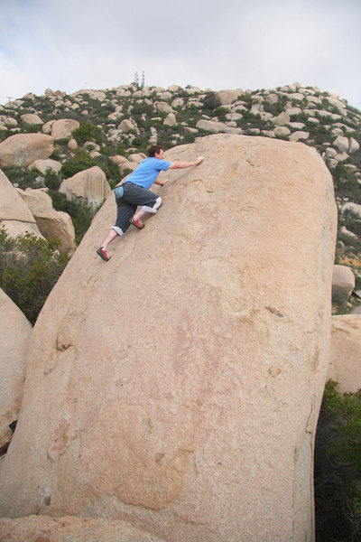 Rob Topping out on Vomitorium (photo by Jon Leicht)