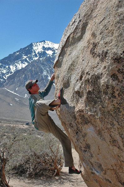 Climbing 'Howard Carter'