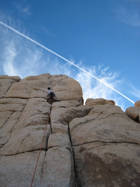 Climbing with airplanes, not ships.<br> February 2008