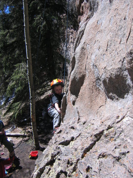 Miles making the moves on <em>The InBetween</em> at Area 37 on April 13, 2008.