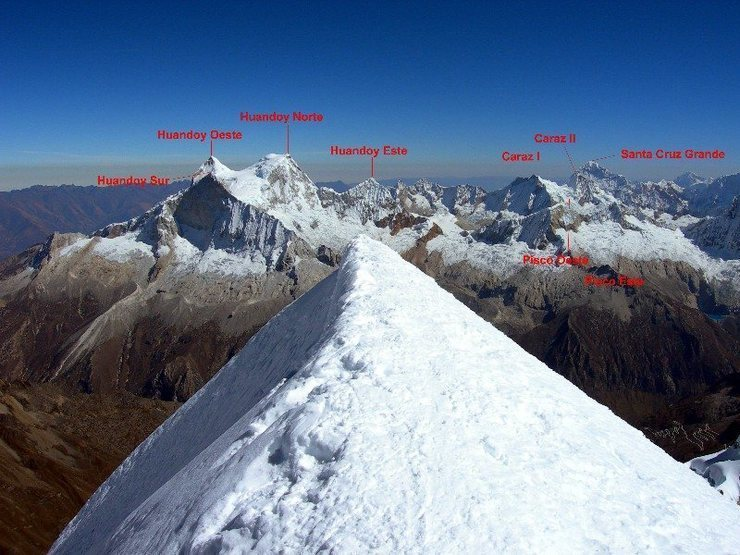 View from summit of Chopi.