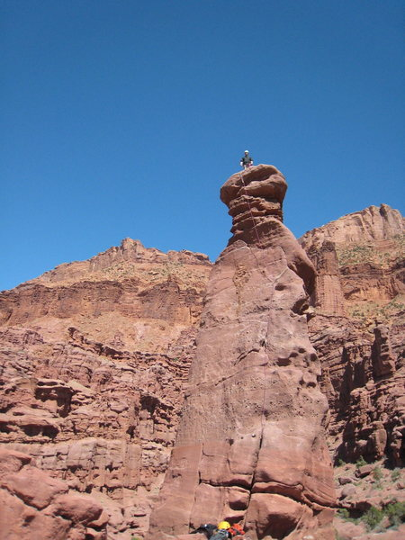 Summit of Lizard Rock.