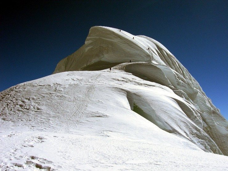 Summit ridge of Chopi.