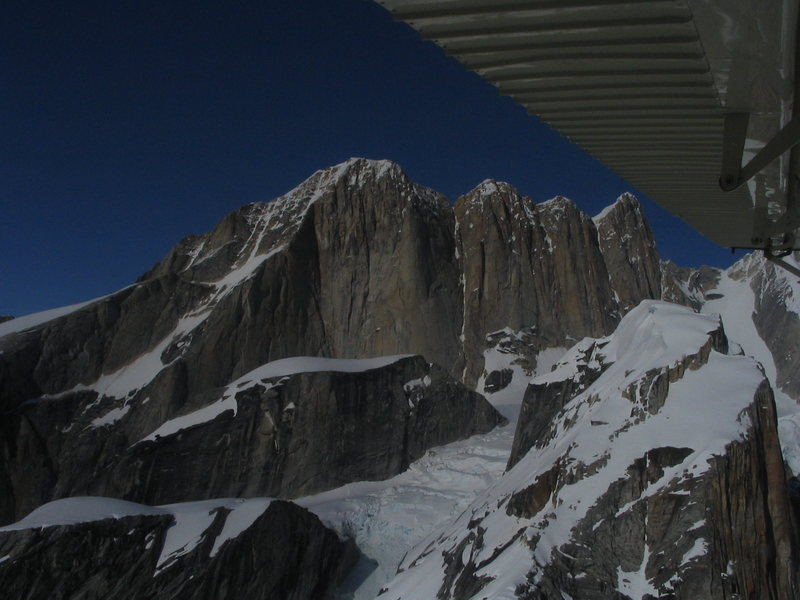 Moose's Tooth. South Face.