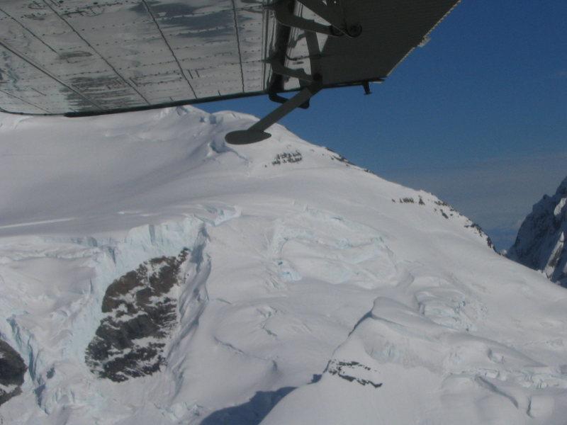 Mt. Dickey, West Face. (glacier route)