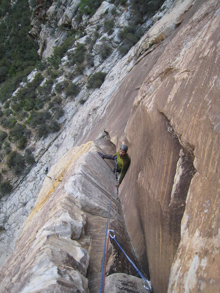 John Hegyes on the second pitch of The Gobbler.