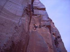 Rock Climbing Photo: Braxton on Easter Island