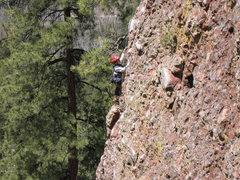 Rock Climbing Photo: Cody enjoying the dance up Super Arete on a crispy...