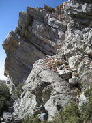 Rock Climbing Photo: This is where we rapped down the back side of The ...