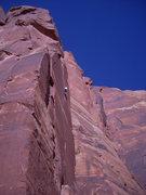 Rock Climbing Photo: Tony on Way Rambo