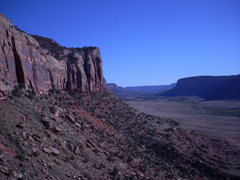 Rock Climbing Photo: View from Way Rambo Wall
