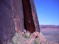 Rock Climbing Photo: Rob on Anunnaki