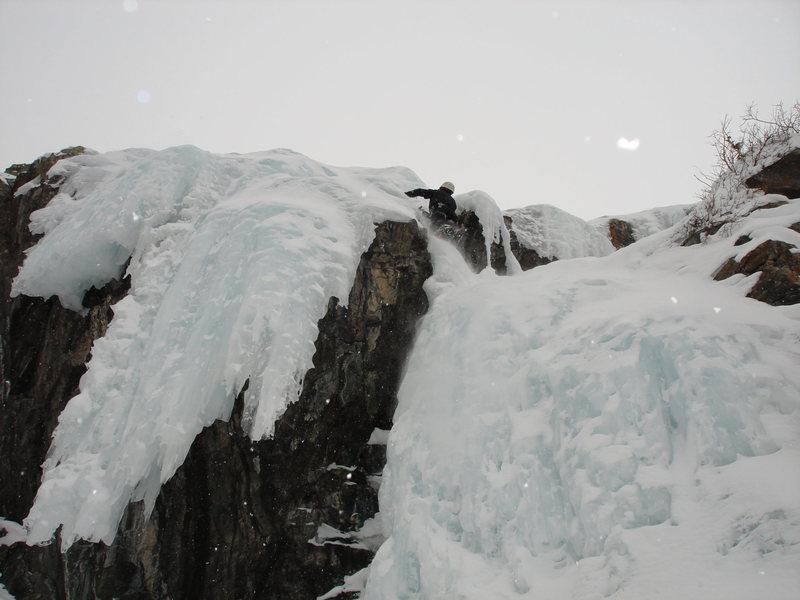 Rock Climbing Photo: Lincoln Falls