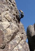 "Rock Climbing Photo: Some n00b on ""Unleash the Dragon"". Photo..."