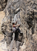"Rock Climbing Photo: Dana on ""Taylor Made"".   Photo by Blitzo..."