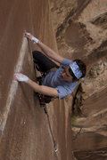 Rock Climbing Photo: The final traverse, and from the looks of it the m...