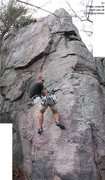 Rock Climbing Photo: A strange composite?  This accurately illustrates ...