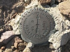 Rock Climbing Photo: The benchmark
