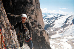 """Rock Climbing Photo: On """"Lions and Tigers"""" a route that was p..."""