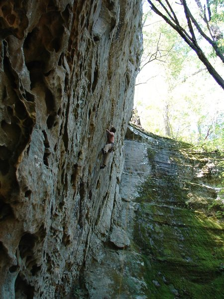 Rock Climbing Photo: John Dobbe on Detox