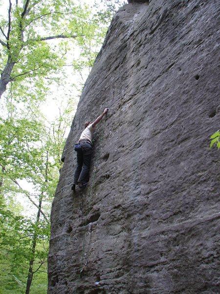 Rock Climbing Photo: Thune cruising Hidden Treasures