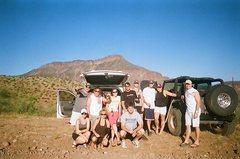 Rock Climbing Photo: Jug crew