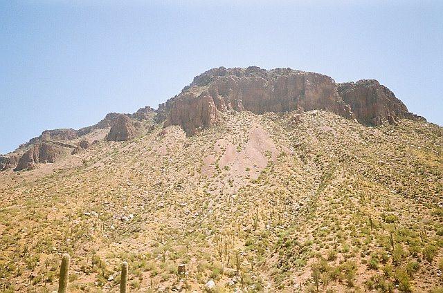 Rock Climbing Photo: Sierra Ancha Mountains