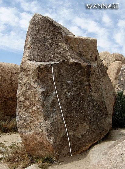 """Rock Climbing Photo: """"Wannabe"""". Photo by Blitzo."""