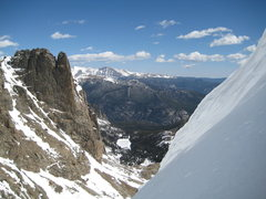 Rock Climbing Photo: Notchtop from The Hourglass, RMNP