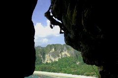 Rock Climbing Photo: Caveman offers a great position and nice views for...