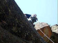 Rock Climbing Photo: Cruisin' up Turkey Baster. Buttshot by Davey Gravy...