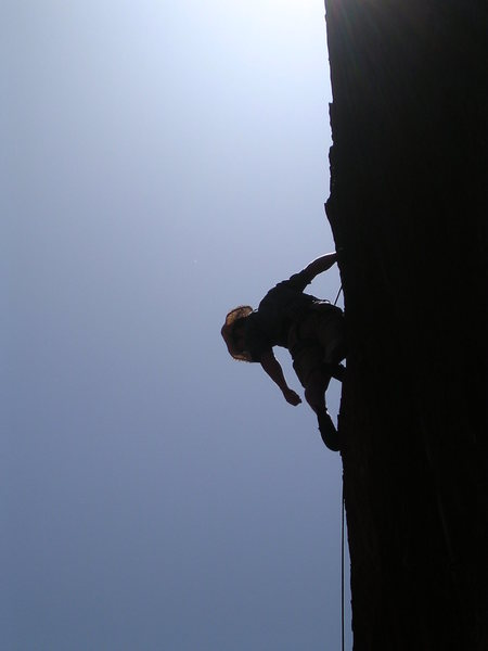 Rock Climbing Photo: Anthony in Red Rocks, NV