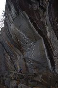 Rock Climbing Photo: The beautiful line.
