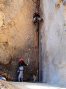 "Rock Climbing Photo: Chris ""Zero Star"" Miller on La Reina"