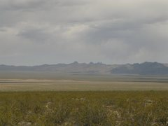 Rock Climbing Photo: Castle Peaks as seen from Ivanpah Valley