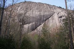 Rock Climbing Photo: LK from below.