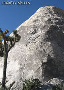 "Rock Climbing Photo: ""Lickety Splits"". Photo by Blitzo."