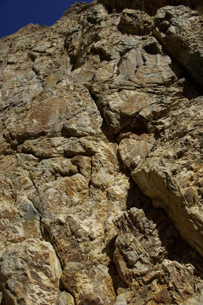 Rock Climbing Photo: This gives you and idea of the beginning of the cl...