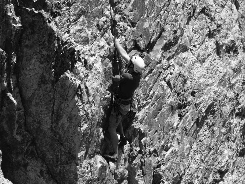 Rock Climbing Photo: Nice Jams at the beginning
