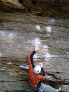 Rock Climbing Photo: mark during the winter.. flyin' through some seque...