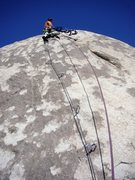 "Rock Climbing Photo: the old A1 bolt ladder (...with a few 3/8"" bo..."